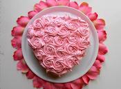 Tarta Rosas Valentín