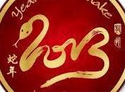Feliz serpiente (tradiciones Nuevo Chino)