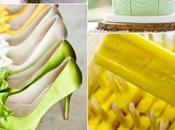 Colour Board #46. Lemon zest, tender shoot, linen