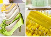 Colour Board #46. Lemon zest, tender shoot, linen