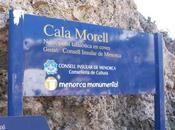 Necrópolis-Hipogeo Cala Morell (Menorca).