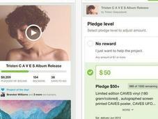 Kickstarter lanza aplicación móvil para