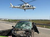 evidente accidente tráfico?
