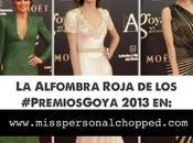 ALFOMBRA ROJA: Mejor Vestidas GOYA!
