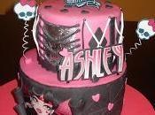 Tarta cupcakes Monster high