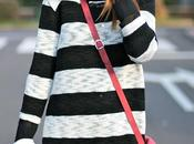 Black White Sweater Stripes