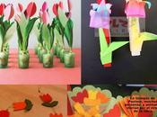 Comunión: Tutoriales Ideas tulipanes