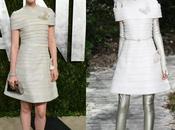 Bella Heathcote Chanel Alta Costura after party Vanity Fair Oscars 2013