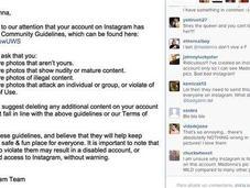 Instagram advierte Madonna amenazan cerrar cuenta