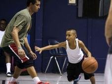 Niño prodigio baloncesto