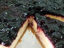 Receta para cocinar tarta queso grosellas negras microondas