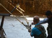 increíbles armas caseras rebeldes sirios.