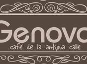 Génova: café antigua calle