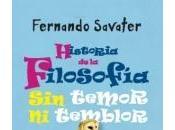 Novedad: Historia Filosofía temor temblor, Fernando Savater (Espasa)