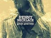 Penny necklace green pine tree