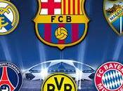 Cuartos Final UEFA Champions League. Bombo hablado.