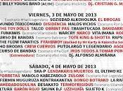Distribución días Viña Rock 2013