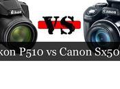 Comparación: Nikon P510 Canon Sx50