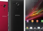 Nuevos teléfonos Android Sony Xperia