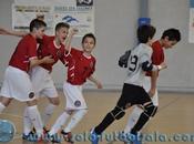 Campeonato España Alevín F.Sala: Cataluña, Murcia, Madrid Extremadura semifinales