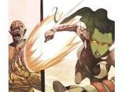 Primer vistazo Guardians Galaxy Infinite Comics Gamora