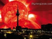 Explosión solar desencadena lluvia fuego coronal