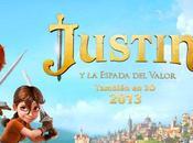 """Primer teaser-póster """"Justin espada valor"""""""