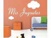 Vinilos Infantiles para organizar habitación