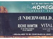 Primeras confirmaciones para Monegros Desert Festival: Underworld, Public Enemy, Richie Hawtin, Vitalic...