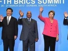 Brasil, Rusia, India, China Sudáfrica, crean Banco inicial millones