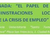 "Jornadas Papel Administraciones Locales frente crisis empleo"""