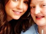 Somerhalder Nina Dobrev visitan enferma