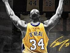 Lakers retiran camiseta Shaq O'neal error