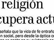 Alejandro Navas: Papa Francisco, gente vuelve religión