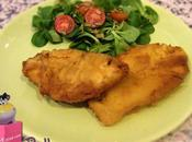 Pollo empanado mostaza Dijon