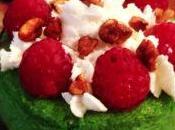 Mini cheesecake pistacho frambuesas