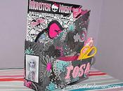 DIY: archivador reciclado Monster High