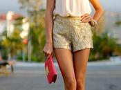 Sequins Shorts