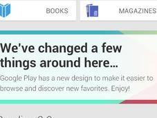 filtra nuevo diseño Google Play
