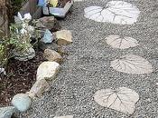 Stepping stones para jardín