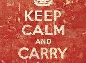 """""""keep calm carry"""