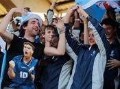 Argentina entrenó multitud tribunas