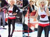 "pierdas look Christina Aguilera ""Today Show"" NBC,"