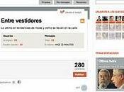 Entre vestidores Eskup, nueva social País
