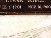"""tumba Clark Gable dañada """"vándala besucona"""""""