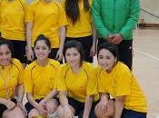 realizó torneo comunales hándbol, futsal damas tenis mesa