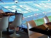 Real Café Bernabeu, menús diseño asequibles vistas campeonas