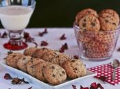Cookies chocolate, nueces avellanas
