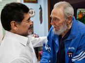 Sostuvo Fidel fraternal encuentro Maradona