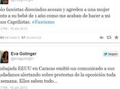 Golinger, acosada insultada seguidores Capriles